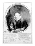 Jan Cornelisz Sylvius  1646 (Etching)