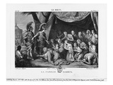 The Family of Darius before Alexander the Great (Etching)