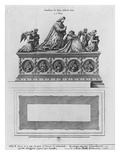 Tomb of Charles Viii at the Basilica Saint-Denis (Etching)