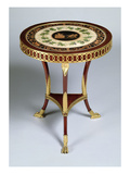 Pedestal Table  1804-14 (Gilded Wood)