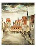 Castle Courtyard  Innsbruck (W/C)