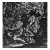 Susanna and the Elders  C1590 (Etching)