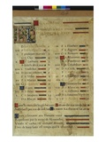 Calendar Page for November  from a Book of Hours  C1550-60 (Vellum)