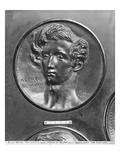 Alfred De Musset  1831 (Bronze)