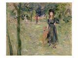 Bois De Boulogne  1893