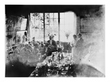 Wedding Meal of Suzanne Hoschede and Theodore Earl Butler  20 July 1892 (B/W Print)