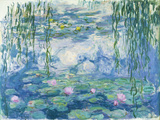 Waterlilies  1916-19 (Oil on Canvas) (See also Detail 382331)