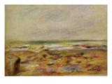 The Beach at Martigues  1888