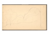 Norway  Mount Kolsaas  1895 (Pencil on Paper)