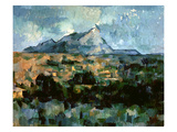 Montagne Sainte-Victoire  1904-06 (Oil on Canvas)