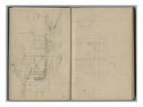 Harbour  from a Sketchbook  1888-89 (Pencil on Paper)