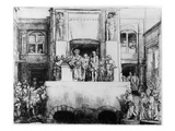 Christ Presented to the People  1655 (Drypoint)