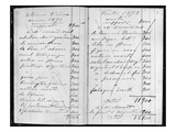 Pages from Monet's Account Books Detailing Sales to Durand-Ruel and Manet  1872