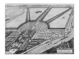 Hampton Court Palace  C1714-16 (Engraving)