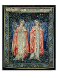 Angeli Ministrantes  1894 (Tapestry)