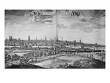The City of Bristol (With Key)  1717 (Engraving)