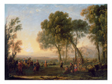 Landscape with a Country Dance (Oil)