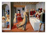The Feast of Herod and the Beheading of Saint John the Baptist  1461-62 (Tempera on Panel)