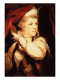 Mrs Abington as Roxana (Oil on Canvas) 1782-3