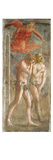 Adam and Eve Banished from Paradise  C1427 (Fresco) (Pre-Restoration) (See also 200134 and 30029)