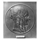 Baronne De Forget  Born Lavalette  1847 (Bronze)