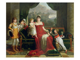 The Duchess of Feltre and Her Children  1810