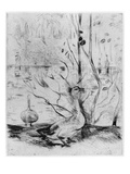 Goose  1889 (Drypoint) (B/W Photo)