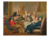 The Reading from Moliere  C1728