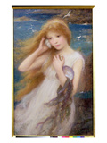 Sea Nymph  1893 (Oil on Canvas)