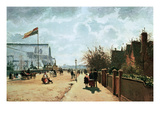 The Crystal Palace  London  1871 (Oil on Canvas)