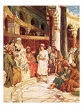 Christ Speaking with the Doctors in the Temple in Jerusalem