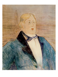 Portrait of Oscar Wilde  1895 (W/C)