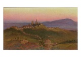 View of San Gimignano  1898 (Oil on Panel)