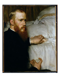 Portrait of Dr Washington Epps  My Doctor  May 1885 (Oil on Canvas)
