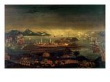 Battle of Bunker Hill  17th June 1775 (Oil)