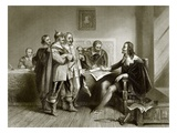 Charles 1st Refusing the Treaty at Oxford