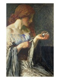 The Crystal Ball (Oil on Board)
