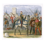 Richard Assumes the Command of the Rebels in the Peasants Revolt