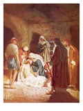 Joseph of Arimathaea Lying the Body of Jesus in His Own Tomb