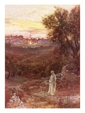 Jesus on the Mount of Olives