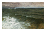 Lannacombe Bay  Start Point in the Distance (Oil on Board)