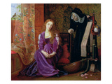 The Pained Heart&#39;  or &#39;sigh No More  Ladies&#39;  1868 (Oil on Canvas)