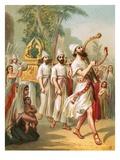 David before the Ark