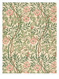 sweet Briar&#39; Design for Wallpaper  Printed by John Henry Dearle (1860-1932) 1917