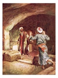 Peter and John in the Sepulchre