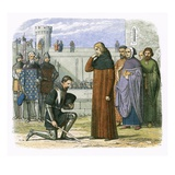 Meeting of Richard Ii and Henry Bollinbroke at Which Henry Demands the Throne