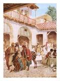 Joseph's Brethren at the Inn Every Man's Money in His Sack