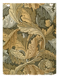 Acanthus Wallpaper  Designed by William Morris (1834-96)  1875