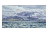 Isle of Arran  7th August 1883 (Oil on Canvas)