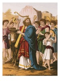 David Playing before Ark